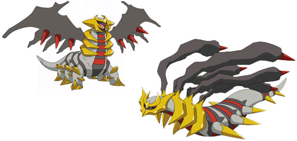 Anime vs Trailer Giratina_formas
