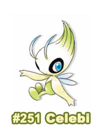 Artwork Celebi