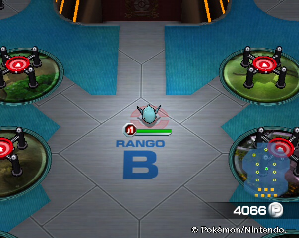 Rango B - Pokémon Rumble