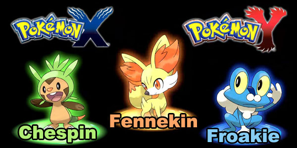 Opinion Pokemon X Pokemon Y Iniciales
