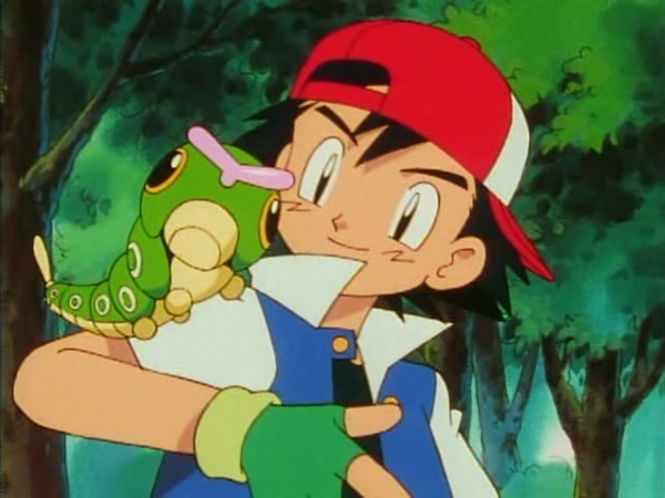 caterpie de ash