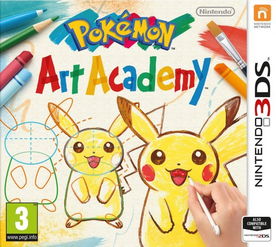 Pokémon Art Academy - Box Art Europa