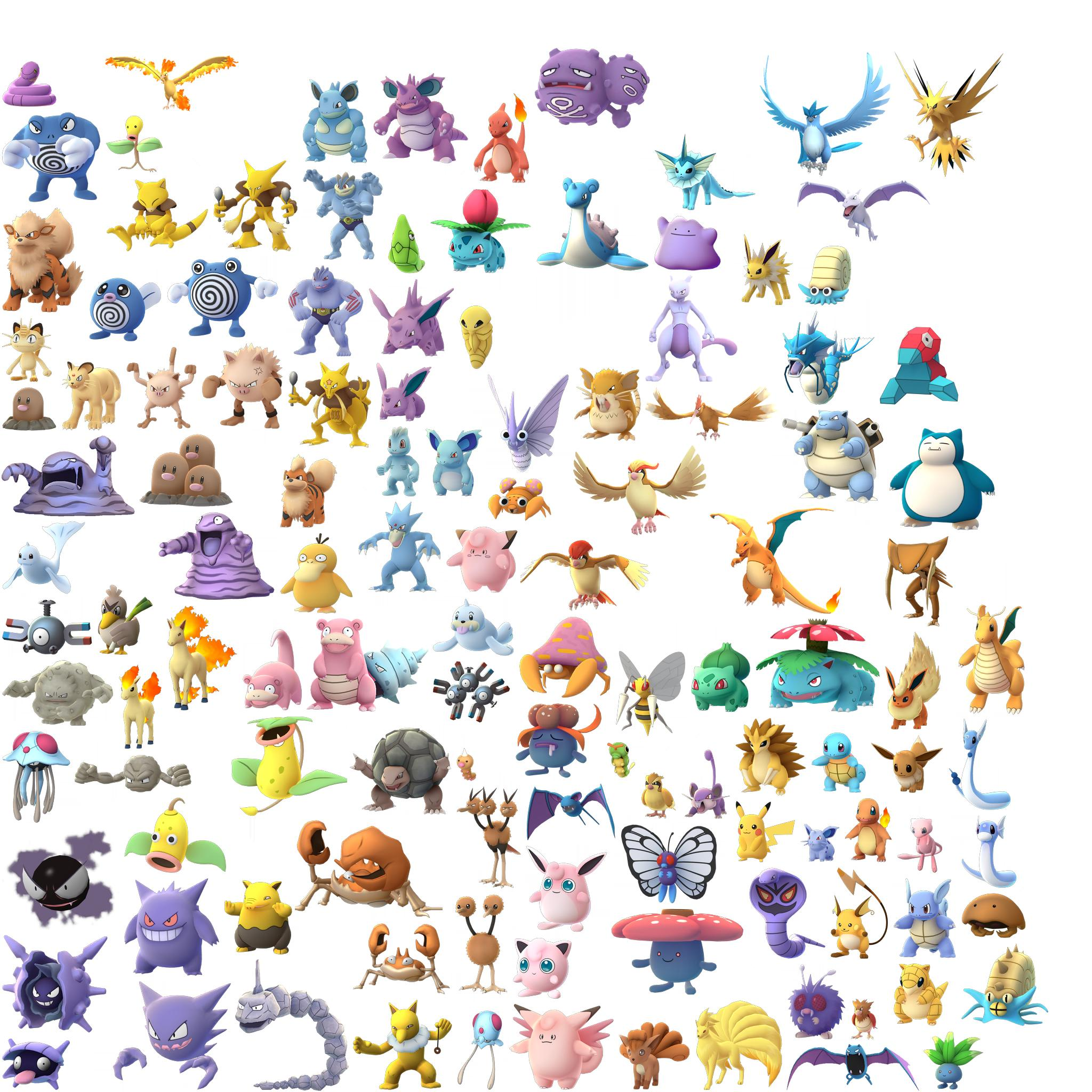 Todas las filtraciones de la beta de pok mon go centro - Evolution pokemon legendaire ...