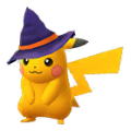 025 Pikachu Halloween Shiny Pokemon Go