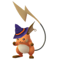 026 Raichu Halloween Shiny Pokemon Go