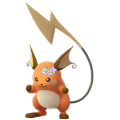 026 Raichu Flores Shiny Pokemon Go