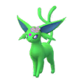 196 Espeon Flores Shiny Pokemon Go