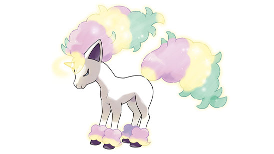 Artwork Ponyta De Galar