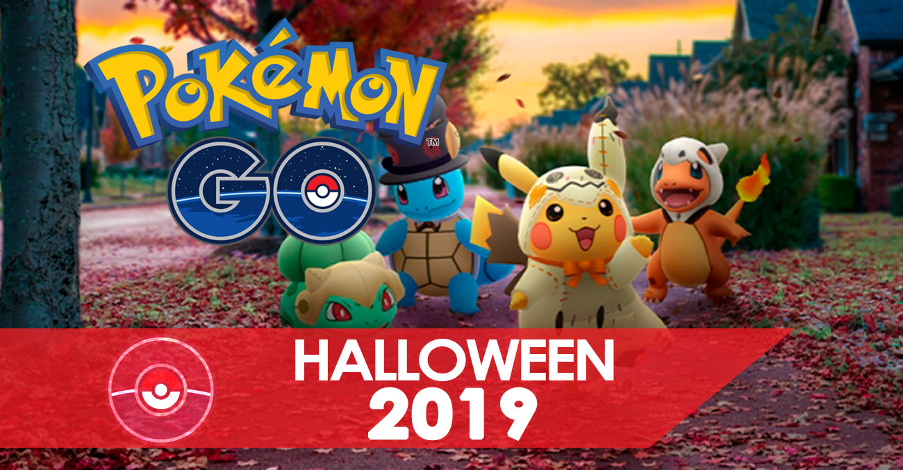 Halloween 2019 Portada Pokemon Go