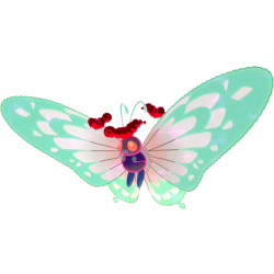 012 Gigamax Butterfree 3d Pokemon Swsh