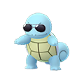 007 Squirtle Shiny Gafas De Sol Pokemon Go