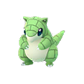 027 Sandshrew Shiny Pokemon Go