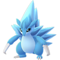 028 Sandslash Shiny Forma Alola Pokemon Go