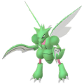 123 Scyther Shiny Pokemon Go