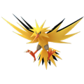 145 Zapdos Shiny Pokemon Go