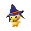 172 Pichu Shiny Halloween Pokemon Go