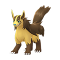 262 Mightyena Shiny Pokemon Go