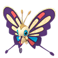 267 Beautifly Shiny Pokemon Go