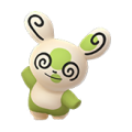 327 Spinda Shiny Patron 8 Pokemon Go