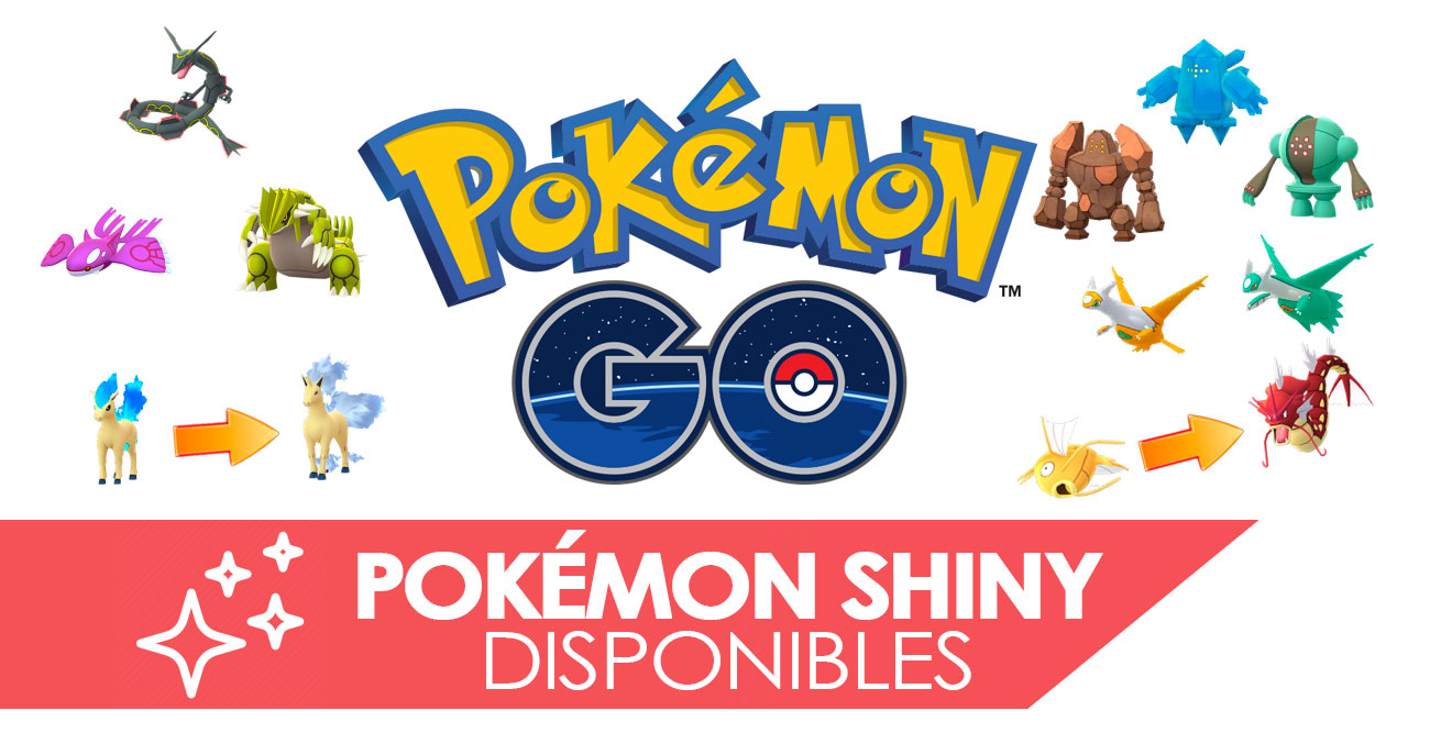 Pokemon Shiny Disponibles Pokemon Go