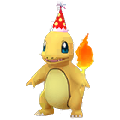 004 Charmander Gorro Fiesta Shiny Pokemon Go