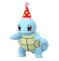 007 Squirtle Gorro Fiesta Shiny Pokemon Go