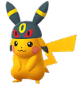 025 Pikachu Shiny Gorro Umbreon Pokemon Go