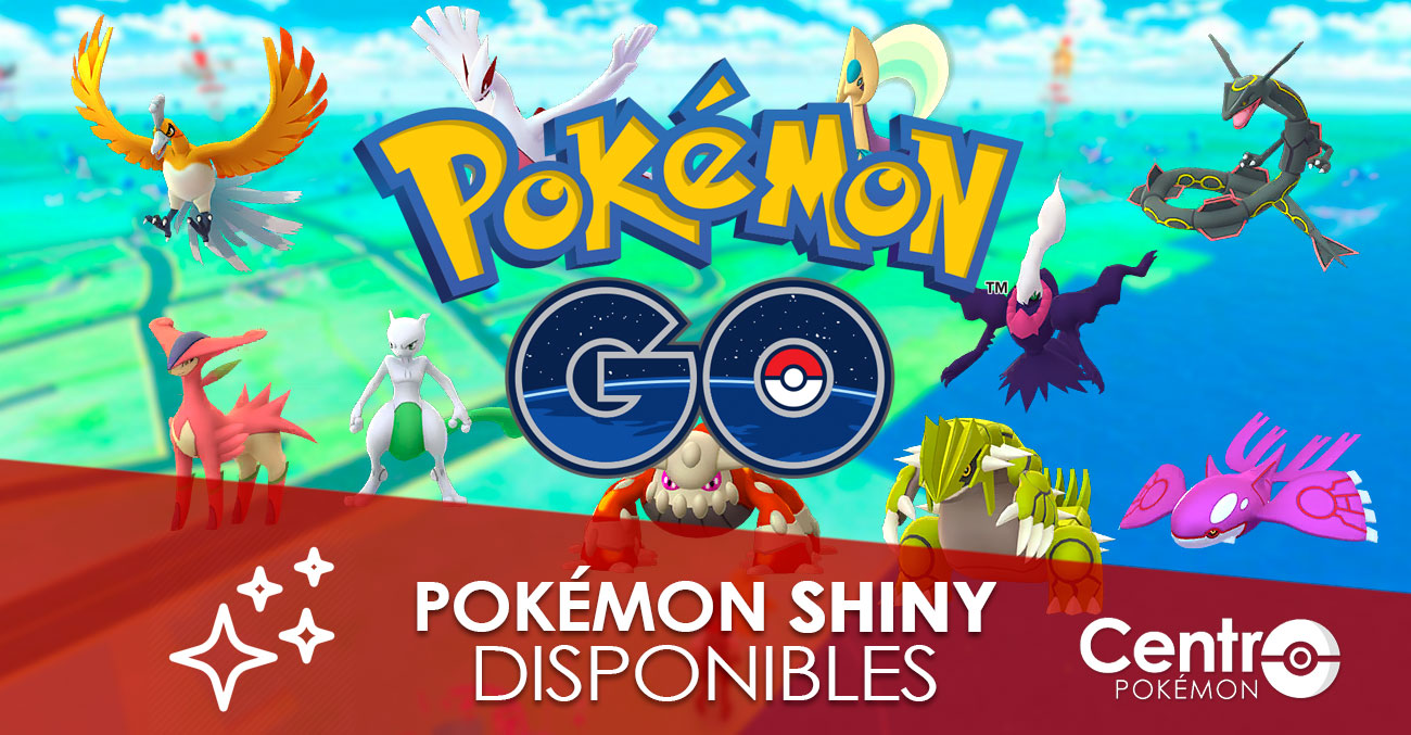 Pokemon Shiny Disponibles Pokemon Go Portada