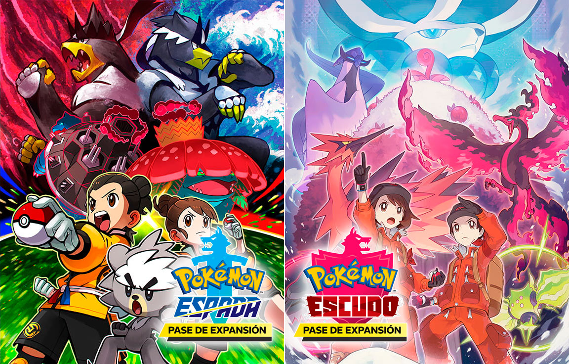 Pase De Expansion Pokemon Espada Escudo