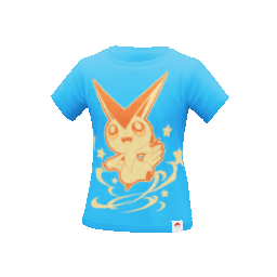 Camiseta Victini Pokemon Go
