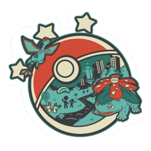 Logo Go Fest 2018 Sticker Pokemon Go