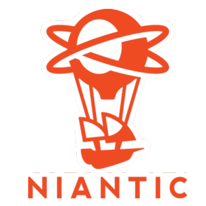 Logo Niantic Sticker Pokemon Go