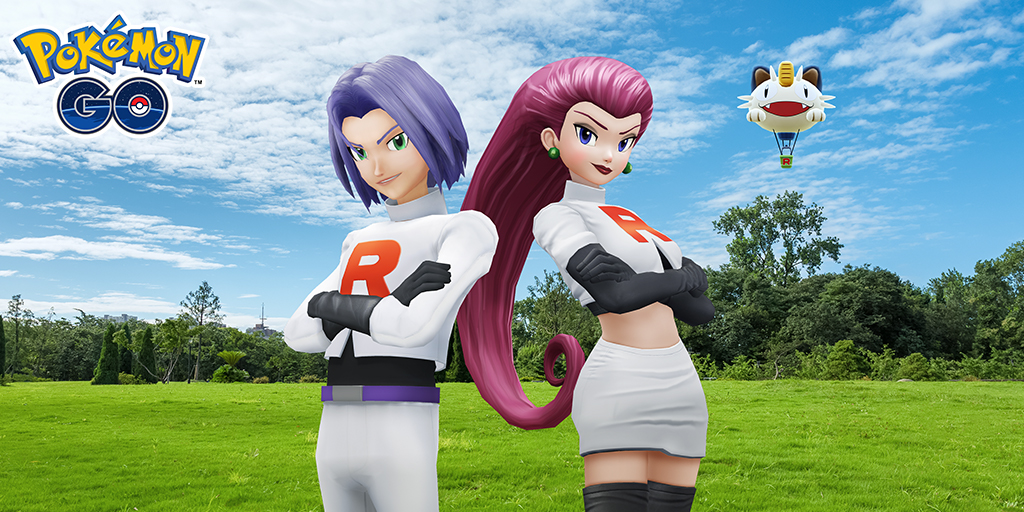 Team go rocket Jessie James Portada