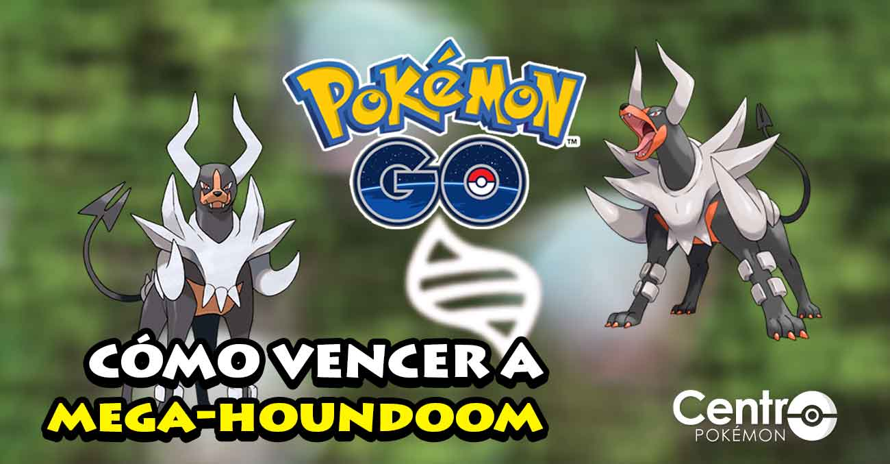 Como Vencer A Mega Houndoom Pokemon Go