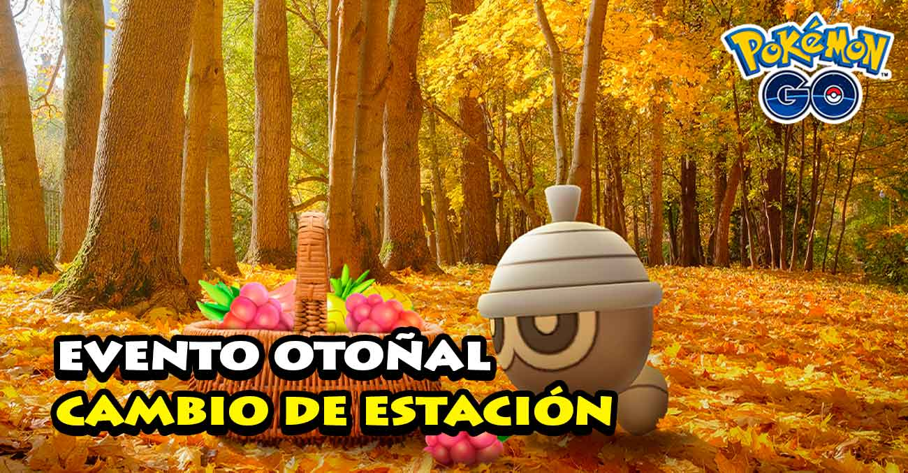 Evento Otoñal Pokemon Go