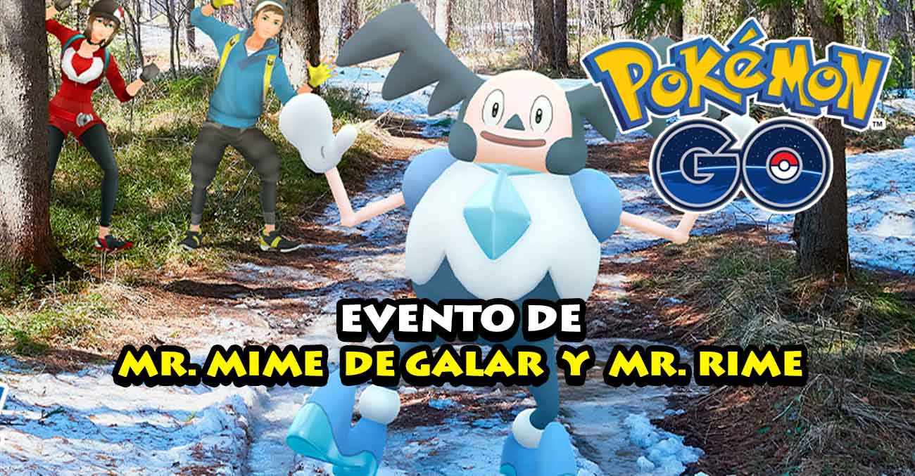 Evento Mr Mime De Galar Mr Rime Pokemon Go