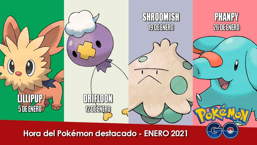 Hora Del Pokemon Destacado Enero 2021