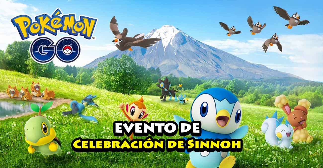 Evento Celebracion De Sinnoh Pokemon Go